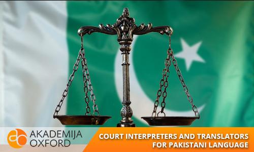 court interpreter and translator for the pakistani languages