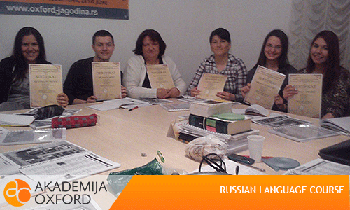 Russian Language Courses To 40