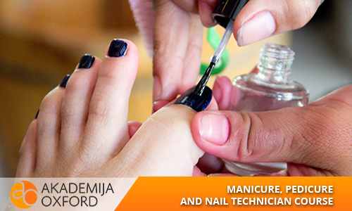 Manicure, pedicure and nail technician Course and Training