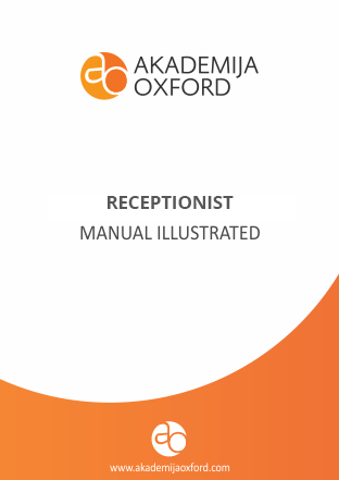 receptionist course and training receptionist school akademija rh akademijaoxford com receptionist training manual pdf free receptionist training manual