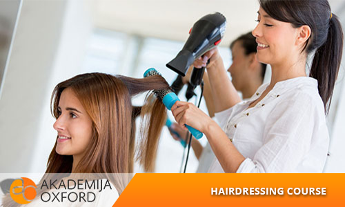 Hairdressing course