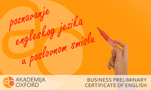 BEC Kembridž sertifikat - Cambridge English: Business Preliminary