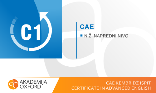 CAE Kembridž ispiti - Certificate in Advanced English