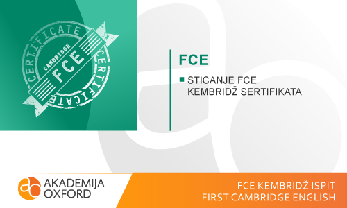 FCE ispit Kembridža - First Cambridge English