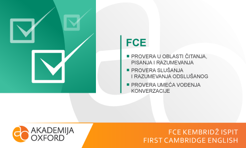 FCE Kembridž ispit - First Cambridge English