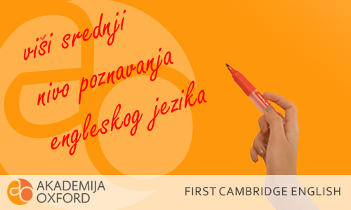B2 First Kembriž sertifikat - Cambridge English: B2 First