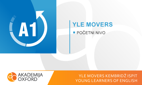 YLE Movers Kembridž ispiti - Young Learners of  English