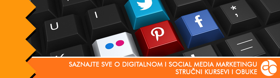 Kurs i obuka - saznajte sve o digitalnom i social media marketingu