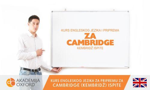 Priprema za Cambridge ispite i polaganje Cambridge ispita