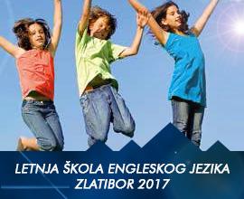 Letnja škola engleskog jezika, Zlatibor 2017.