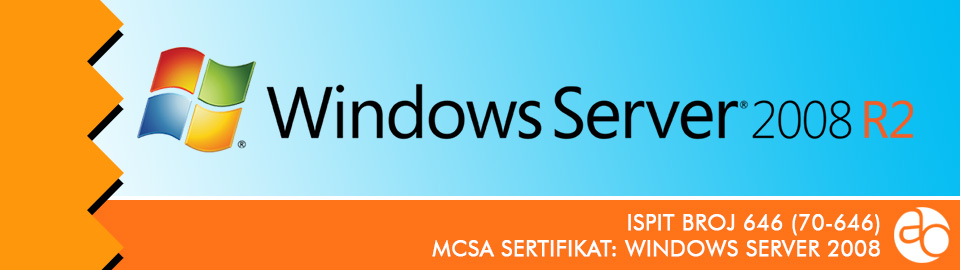 MCSA: Windows Server 2008: ispit broj 70 - 646