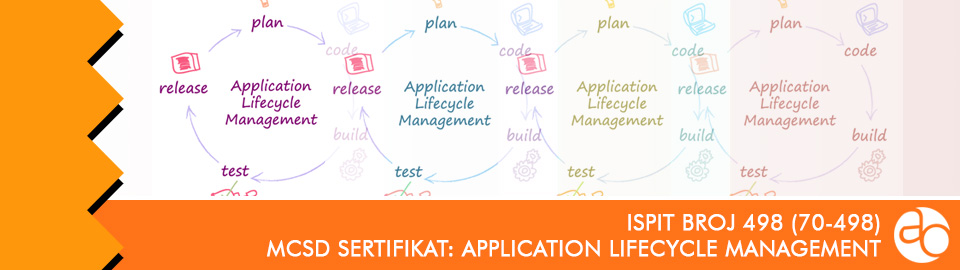 MCSD: Application Lifecycle Management: ispit broj 498 (70 - 498)