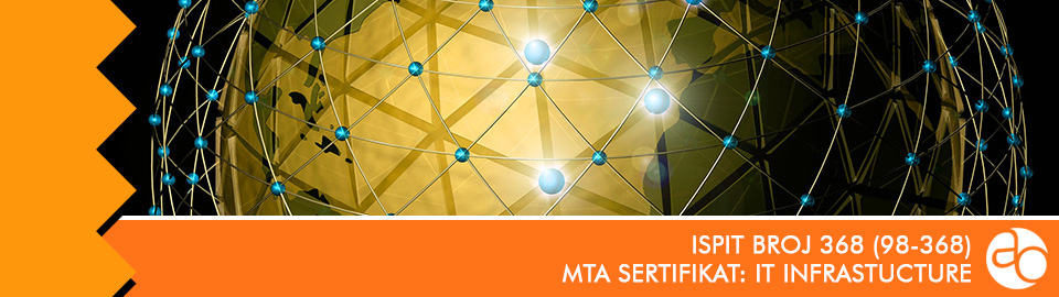 MTA: IT infrastructure: ispit broj 98 - 368