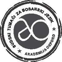 Sodni tolmač in prevajalec za bosanski jezik
