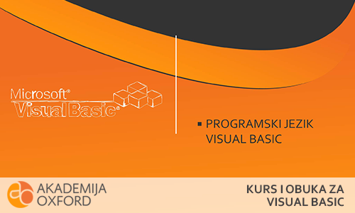 Kurs i obuka za Visual Basic