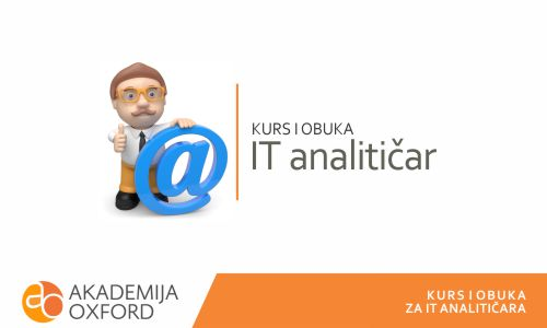 Kurs za it analitičara - Akademija Oxford
