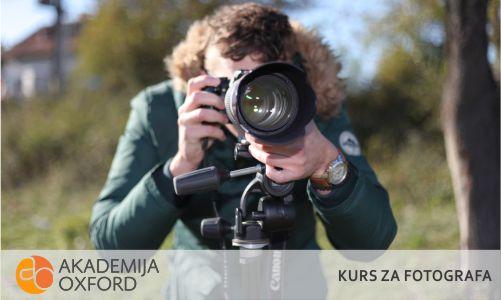 Kurs za fotografa nis