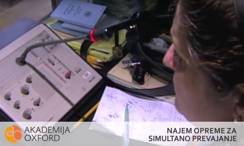Oprema za simultano prevajanje