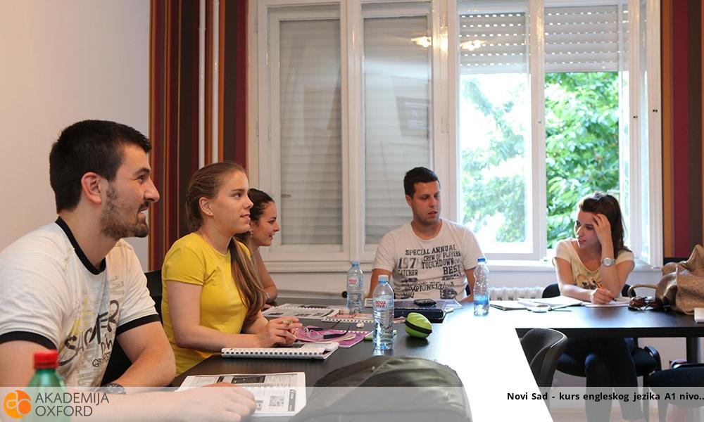 Novi Sad - kurs engleskog jezika A1 nivo
