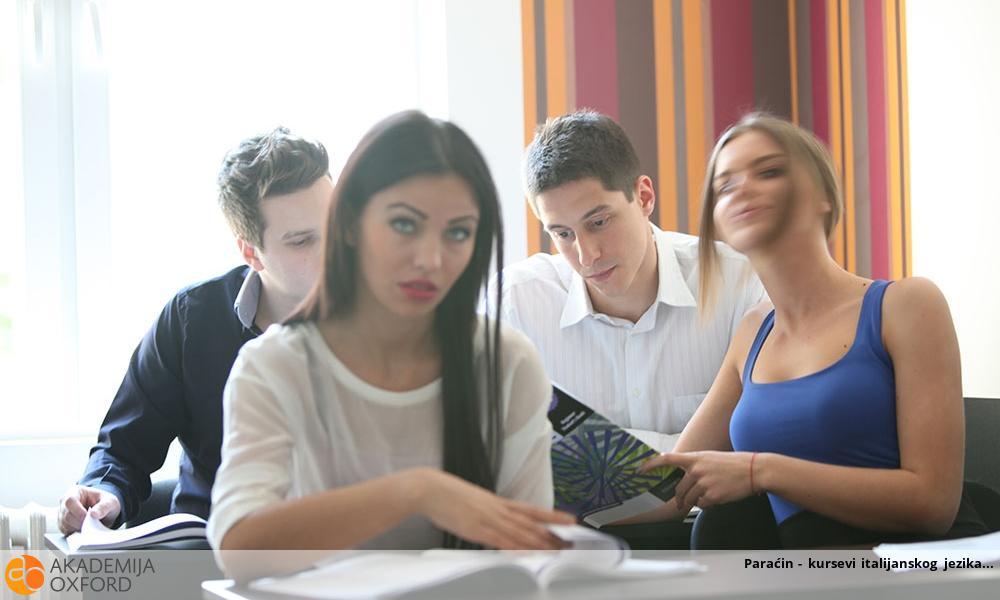 Paraćin - kursevi italijanskog jezika