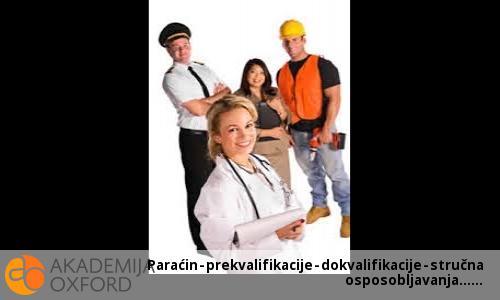 Paraćin - prekvalifikacije - dokvalifikacije - stručna osposobljavanja...