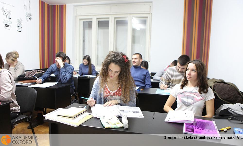 Kurs nemačkog jezika A1 - Zrenjanin