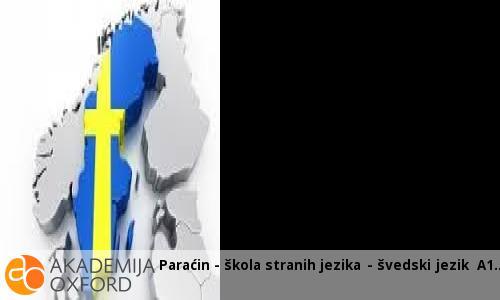 Paraćin - škola stranih jezika - švedski jezik A1
