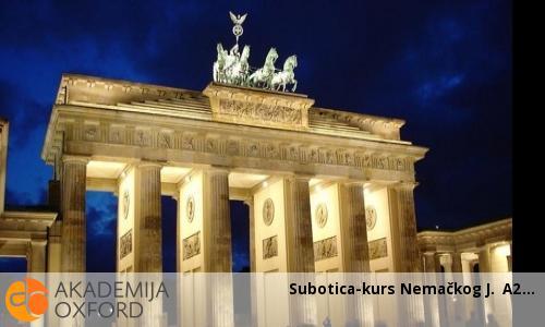Subotica-kurs Nemačkog J. A2