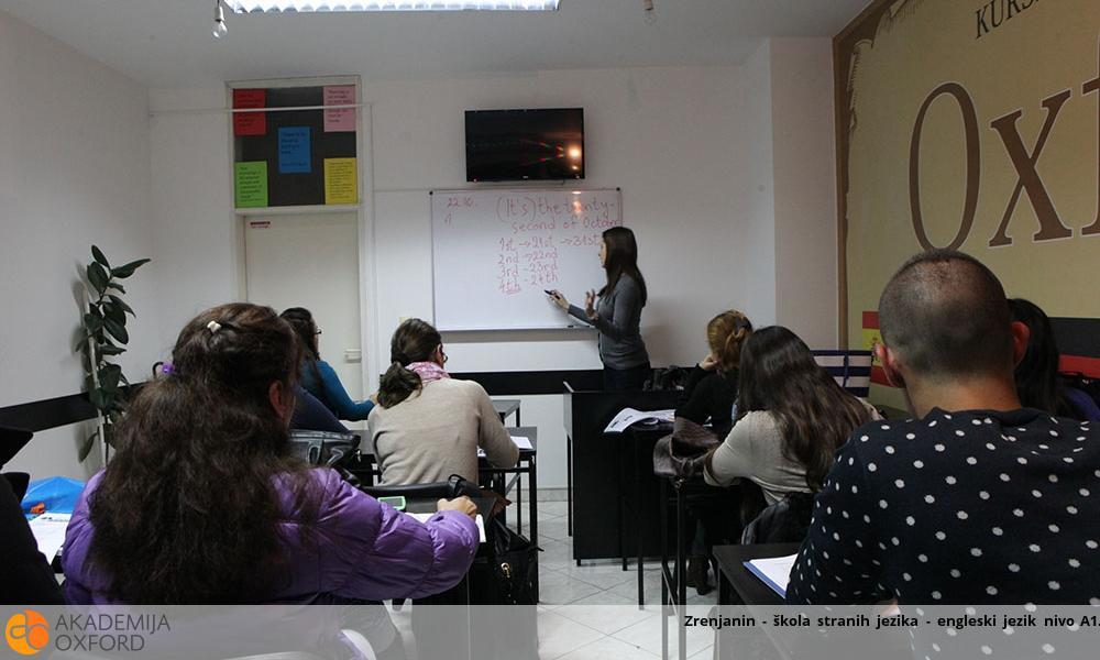 Kurs engleskog jezika - nivo A1
