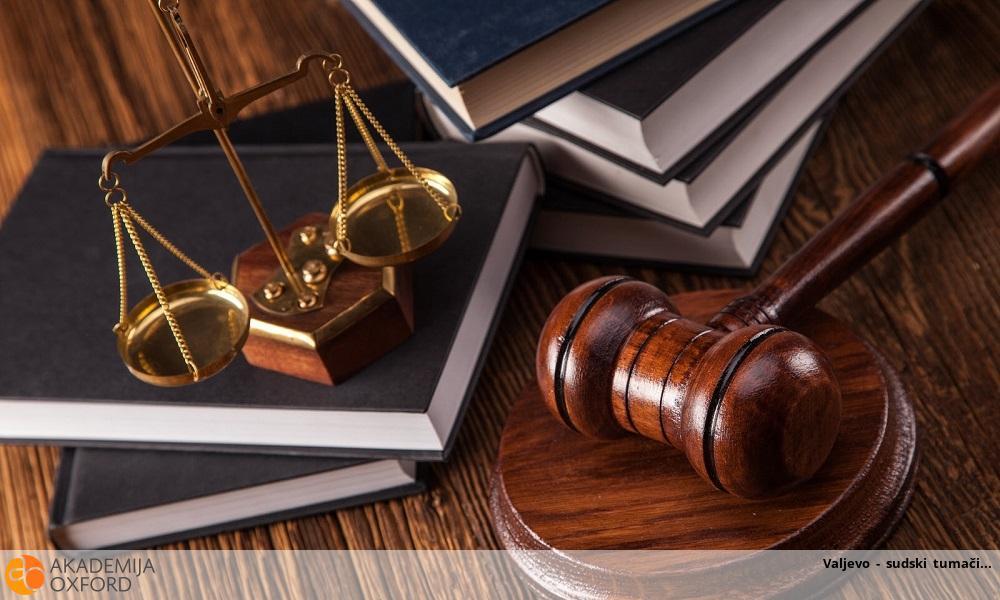 Valjevo - sudski tumači