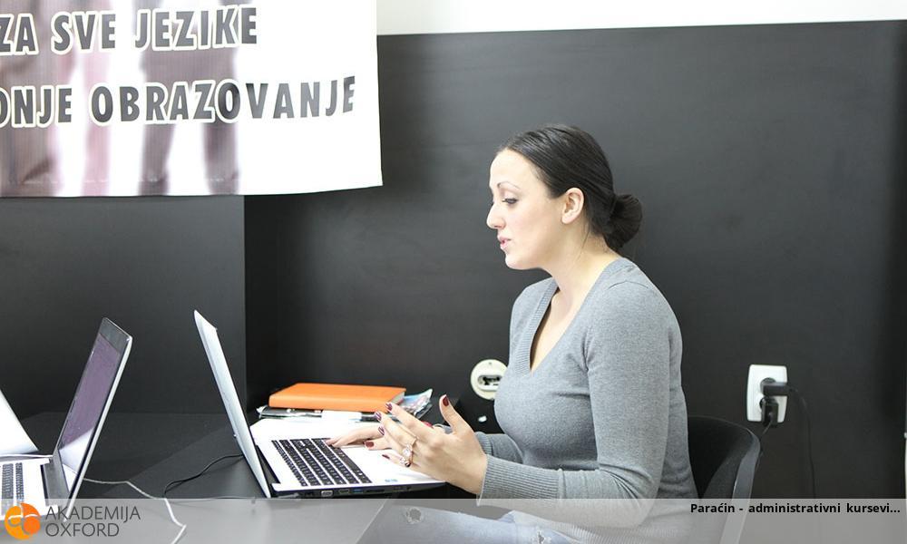 Paraćin - administrativni kursevi