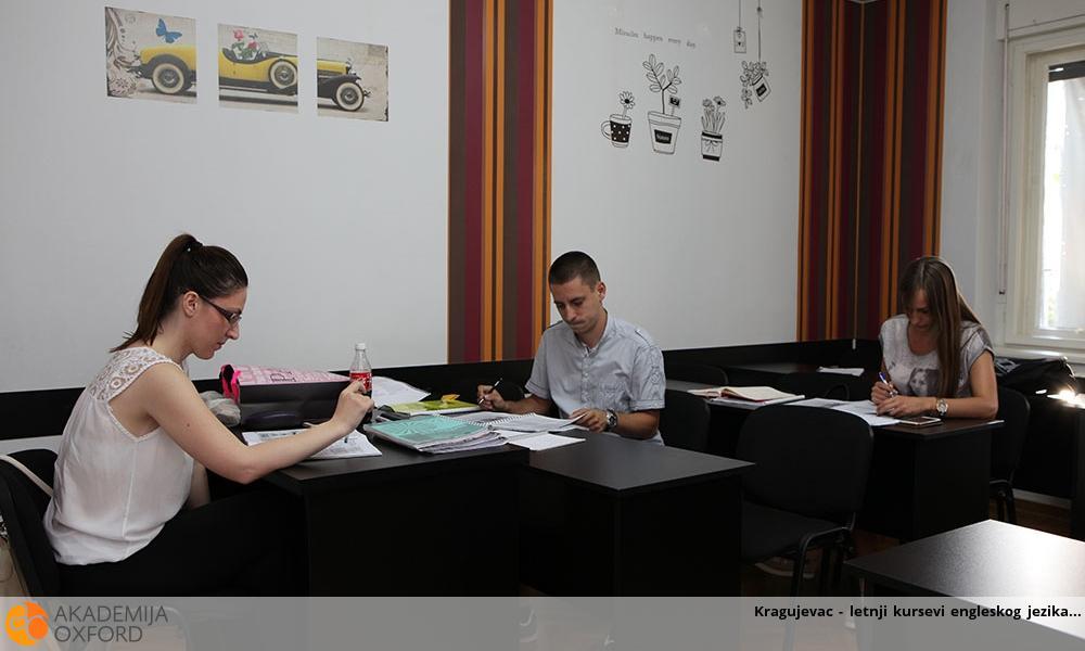 Kragujevac - letnji kursevi engleskog jezika