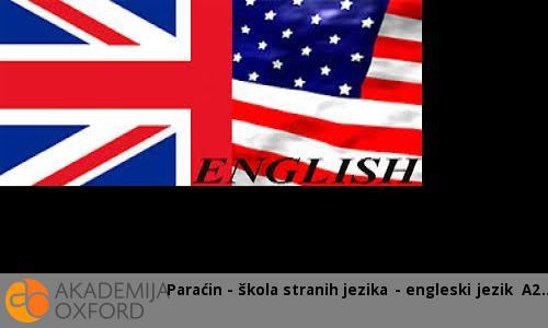 Paraćin - škola stranih jezika - engleski jezik A2