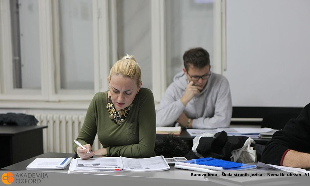 Banovo brdo - Škola stranih jezika - Nemački ubrzani A1