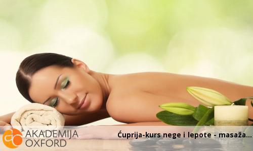 Ćuprija-kurs nege i lepote - masaža