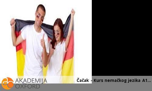 Čačak - Kurs nemačkog jezika A1