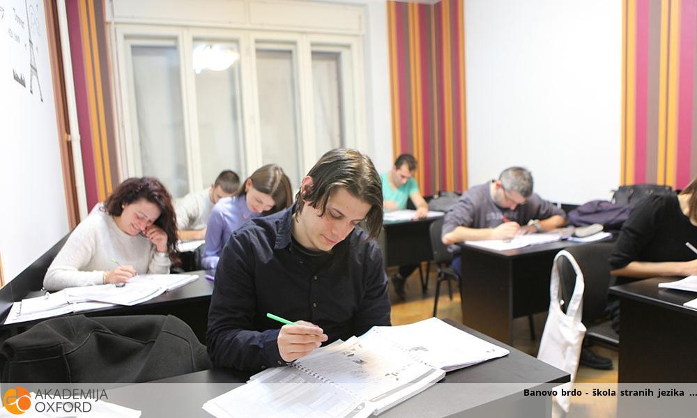 Banovo brdo - škola stranih jezika