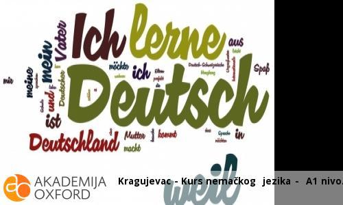 Kragujevac - Kurs nemačkog  jezika -  A1 nivo