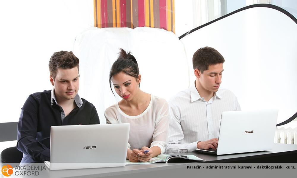 Paraćin - administrativni kursevi - daktilografski kurs