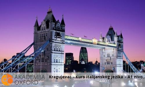 Kragujevac - Kurs italijanskog jezika - A1 nivo