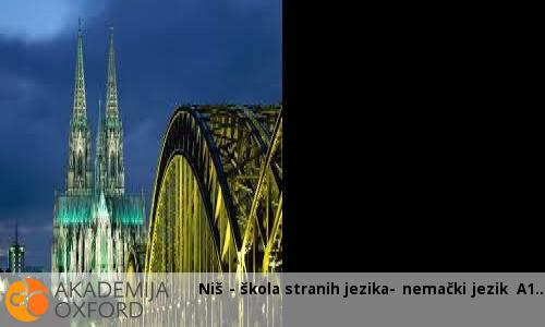 Niš - škola stranih jezika- nemački jezik A1
