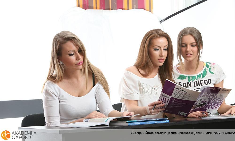 Ćuprija - Škola stranih jezika -Nemački jezik - UPIS NOVIH GRUPA