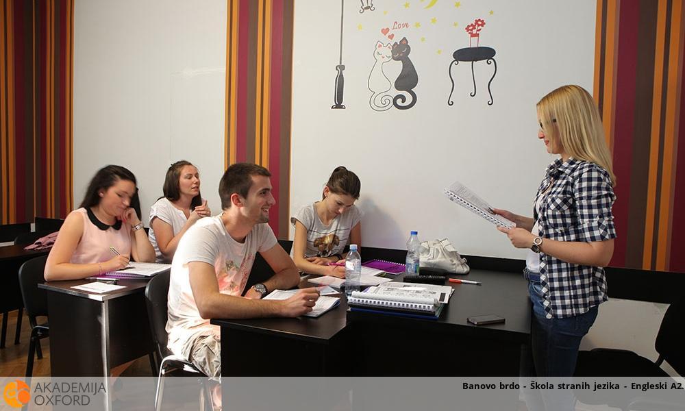 Banovo brdo - Škola stranih jezika - Engleski A2