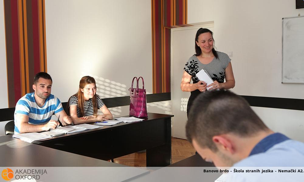 Banovo brdo - Škola stranih jezika - Nemački A2