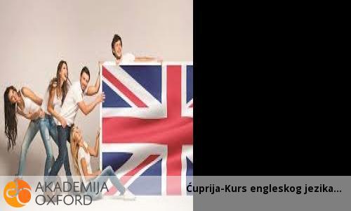 Ćuprija-Kurs engleskog jezika