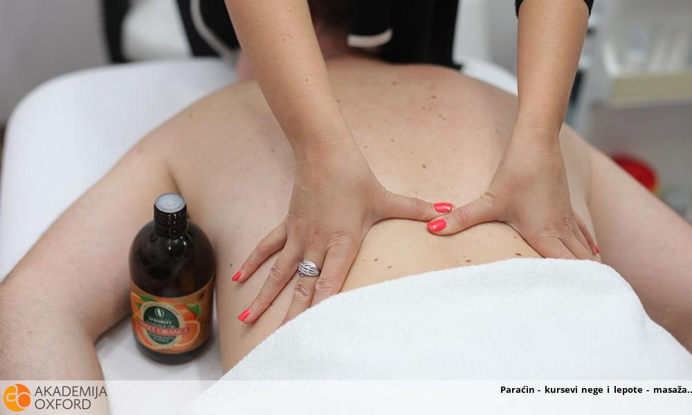 Paraćin - kursevi nege i lepote - masaža