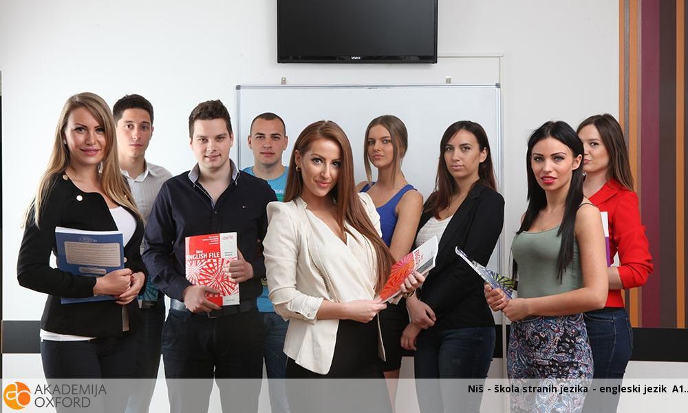 Niš - škola stranih jezika - engleski jezik A1