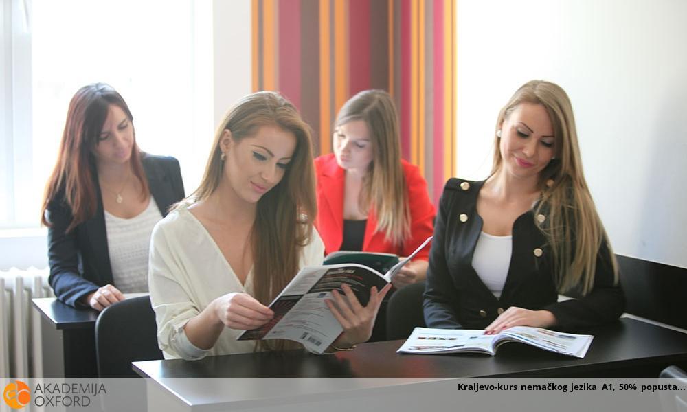 Kraljevo-kurs nemačkog jezika A1, 50% popusta