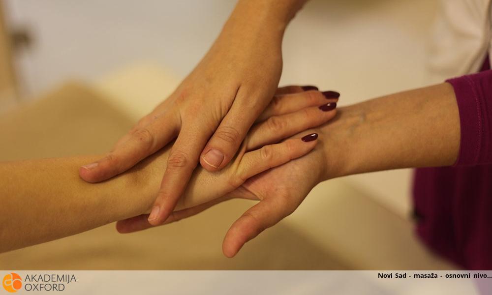 Novi Sad - masaža - osnovni nivo