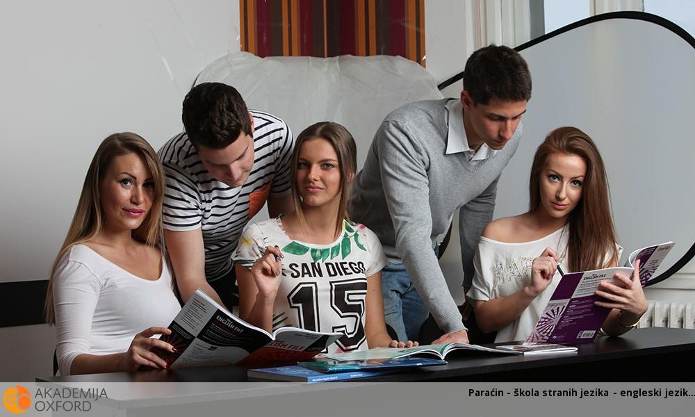 Paraćin - škola stranih jezika - engleski jezik